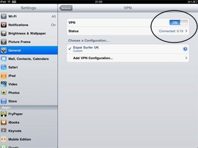 best ipad vpn service